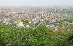 Kathmandu city view, nepal Stock Image