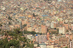 Kathmandu City View. Royalty Free Stock Photos