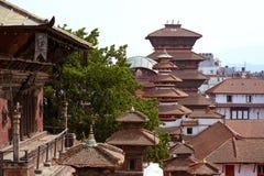 Kathmandu cityscape, Durbar Square, Nepal Stock Photography