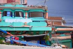 Kathmandu demolita Fotografia Stock