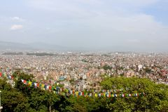 Kathmandu dolina Zdjęcia Royalty Free