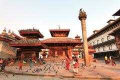 Kathmandu Durbar Square at Kathmandu Valley, Nepal Royalty Free Stock Image