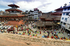 Kathmandu Durbar square, Nepal Stock Photo