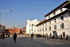 Basantpur Chowk at Kathmandu Durbar Square Royalty Free Stock Images