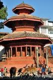 Chasin Dega at Kathmandu Durbar Square Royalty Free Stock Image