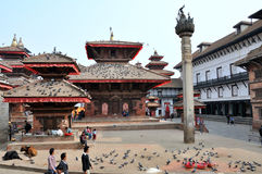Kathmandu Durbar Square Stock Image