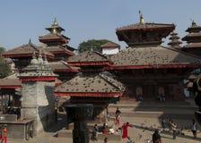 Kathmandu Durbar Square temples, Nepal Royalty Free Stock Photo