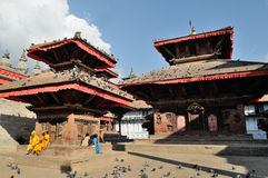 Kathmandu before earthquake 1 Stock Photo