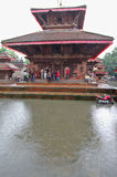 Kathmandu after heavy Monsoon rain. Royalty Free Stock Photos