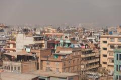 Kathmandu houses Stock Image