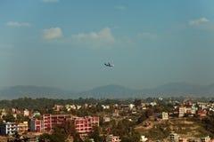 Kathmandu from Kopan Monastery Stock Photo
