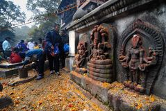 Kathmandu: The Living Goddess Royalty Free Stock Photos