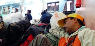 Kathmandu lotnisko Fotografia Royalty Free