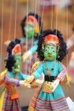 kathmandu marionette nepal Arkivbild