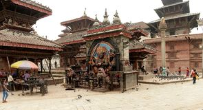 Kathmandu miasto, Napel Zdjęcia Stock