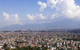 Kathmandu, Nepal. The capital of Nepal is Kathmandu Stock Photo