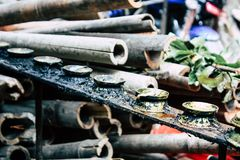 Spirit of Nepal stock image