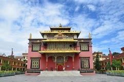 Kathmandu, Nepal, buddhist Nyingmapa monastery Stock Images