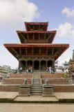 KATHMANDU, NEPAL - JULY 23, 2013: Hari Shankar Temple, Taleju Temple, Taleju Bell, Degutalle Temple at Durbar Sqaure in Patan, Lal Stock Photography