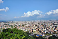 Kathmandu, Nepal landscape Stock Photography