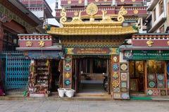 KATHMANDU, NEPAL 16. MÄRZ: Die Straßen von Kathmandu am 16. März, Stockfoto