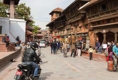 KATHMANDU, NEPAL 16. MÄRZ: Durbar-Quadrat am 16. März 2015 im Ka Lizenzfreies Stockfoto