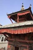 kathmandu nepal pashupatinathtempel Arkivbilder