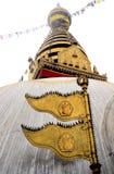kathmandu nepal stupaswayambhunath arkivbild