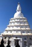 kathmandu nepal swayambunathtempel Arkivbilder