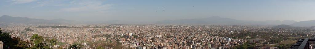 Kathmandu panorama Royalty Free Stock Images