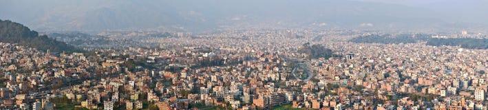 Kathmandu panorama Stock Image