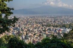 Kathmandu panorama Royalty Free Stock Image
