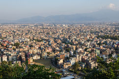 Kathmandu panorama Royalty Free Stock Photos