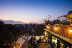 Kathmandu Restaurant Royalty Free Stock Image