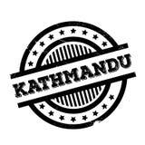 Kathmandu rubber stamp Stock Photo