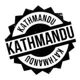 Kathmandu rubber stamp Royalty Free Stock Photo