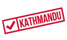 Kathmandu rubber stamp Stock Photography
