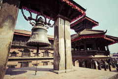 Kathmandu's Durbar Square, Nepal royalty free stock photos