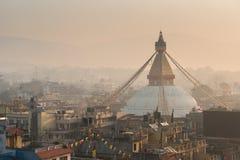 Kathmandu-Stadt Lizenzfreie Stockfotos