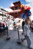 Kathmandu street life. Nepal Royalty Free Stock Images