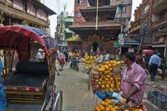 Kathmandu street Stock Photography