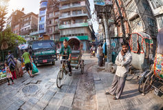 Kathmandu street Stock Photo