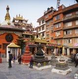 Kathmandu Street View Nepal Royalty Free Stock Photo