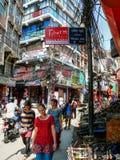 Kathmandu, The Streets of Thamel Stock Photography
