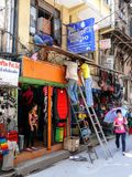 Kathmandu, The Streets of Thamel Royalty Free Stock Photo