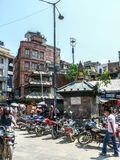 Kathmandu, The Streets of Thamel Royalty Free Stock Photography