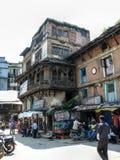 Kathmandu, The Streets of Thamel Stock Images
