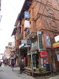 Kathmandu, The Streets of Thamel Royalty Free Stock Photos