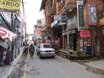 Kathmandu, The Streets of Thamel Stock Photo