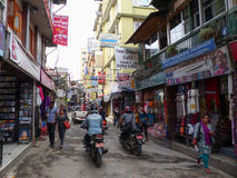 Kathmandu, The Streets of Thamel Stock Images